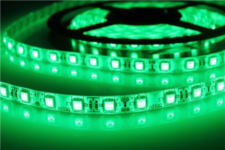 Tira de Leds Color Verde 5050 IP65
