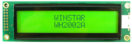 Display Winstar Wh2002a-ygh-st Lcd Alfanumérico 20x2