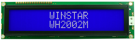 Display Winstar WH2002M-TMI-ST LCD Caracteres 20x2