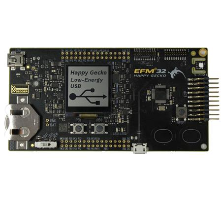 Placa de Desarrollo SLSTK3400A Happy Gecko Starter Kit EFM32