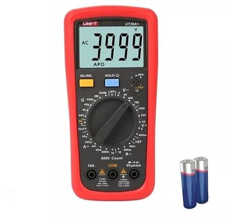 Tester Multímetro Digital Uni-t Ut39a+ Plus Capacitor