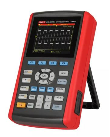 Osciloscopio Digital Portatil Uni-t Utd1050cl 50mhz Multimet