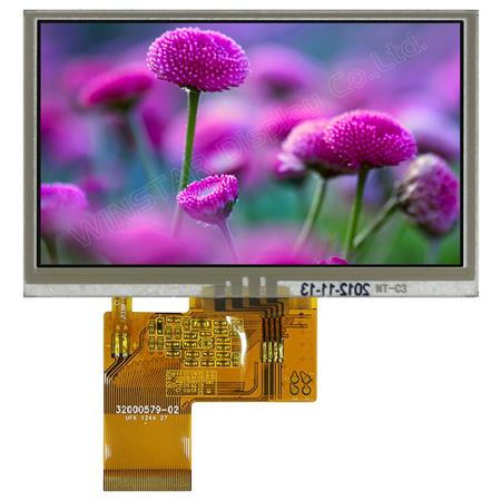 Display Winstar WF43GTIAEDNT0 TFT 4,3""