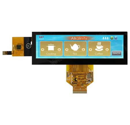"Display Winstar WF52ASLASDNG0 TFT 5,2"" Barra"
