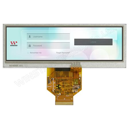 "Display Winstar WF52ATLASDNT0 TFT 5,2"" Barra"