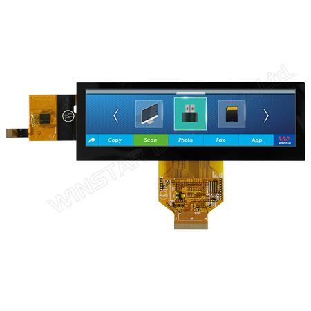 "Display Winstar WF52ATZASDNG0 TFT 5,2"" Barra"