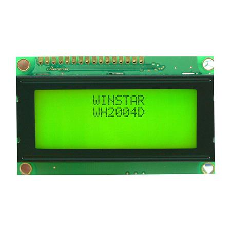 Display Winstar WH2004D-YGH-ST LCD Caracteres 20x4
