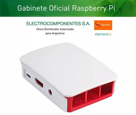 Raspberry Gabinete Original Blanco