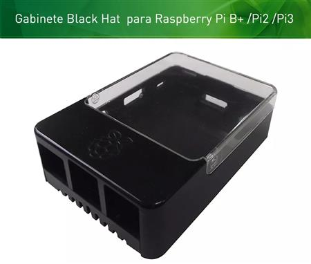 Raspberry Gabinete BLACK HAT